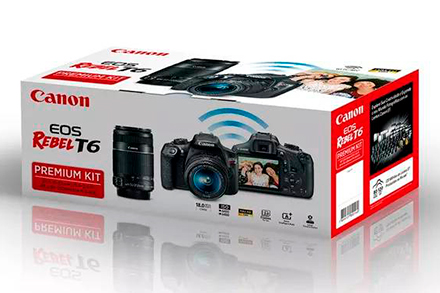 EOS Rebel T6 Premium Kit
