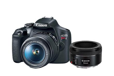 Combo Câmera EOS T7+ Fotógrafo Básico