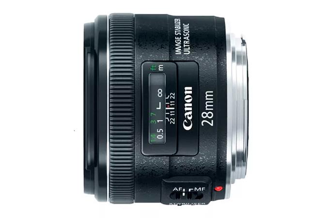 d441f063b776e Lente EF 28mm f 2.8 IS USM