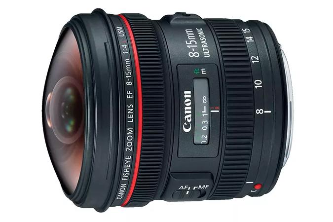 Lente EF 8-15mm f 4L Fisheye USM   Loja Canon 8e111de217
