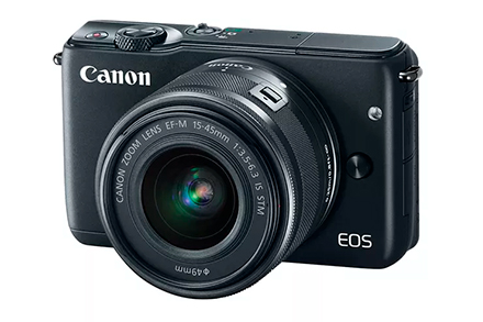 EOS M10 EF-M 15-45 IS STM