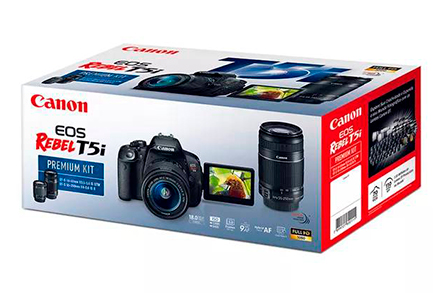 EOS Rebel T5i Premium Kit