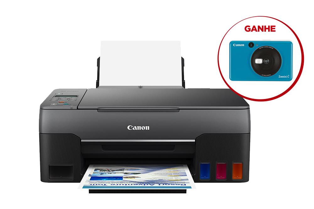 Impressora Multifuncional MEGA TANK G3160