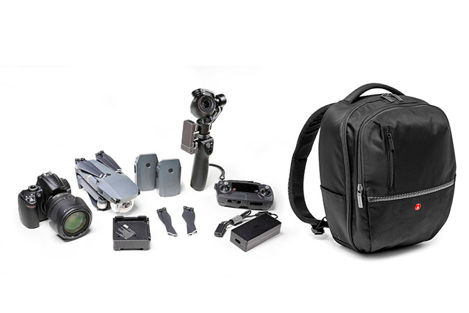 Mochila Manfrotto Advanced Gear Medium para Câmera e Notebook 11,6