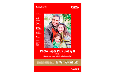 Papel Canon Plus Glossy II PP-201 A4