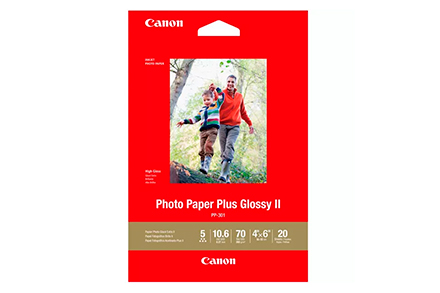 Papel Canon Plus Glossy II PP-301 10x15cm