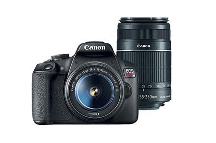 Combo EOS T7+ Premium Kit Reembalada com Lente 50mm e Bolsa