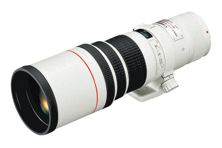 Lente EF 400mm f/5.6L USM view 1