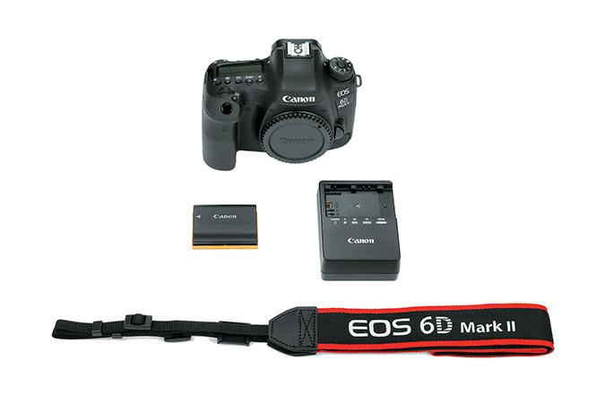 EOS 6D Mark II - Corpo view 8