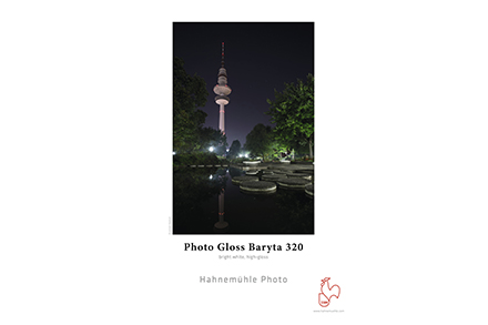 Papel Fotográfico Hahnemühle Photo Gloss Baryta 320g/m² A3 25 Folhas - 10641991