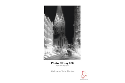 Papel Fotográfico Hahnemühle Photo Glossy 260g/m² A4 25 Folhas - 10641920