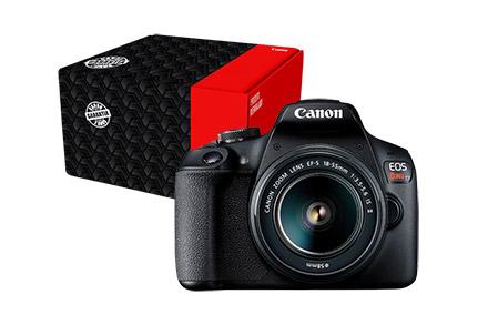 Câmera EOS Rebel T7+ Reembalada com Lente EF-S 18-55mm