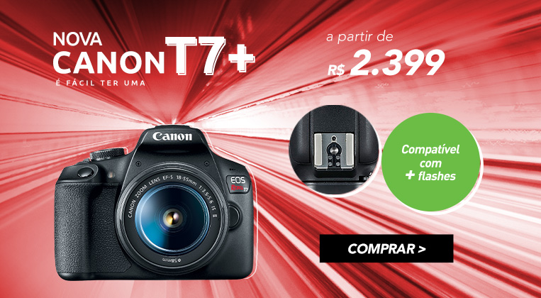 Nova Canon EOS T7+