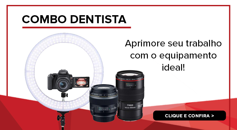 Aprimore seu trabalho e portfolio, adquirindo produtos Canon com até 2 anos de garantia!