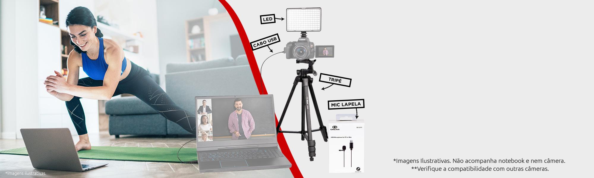 Kit de Acessórios Streaming SL3