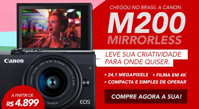 Lançamento EOS M200