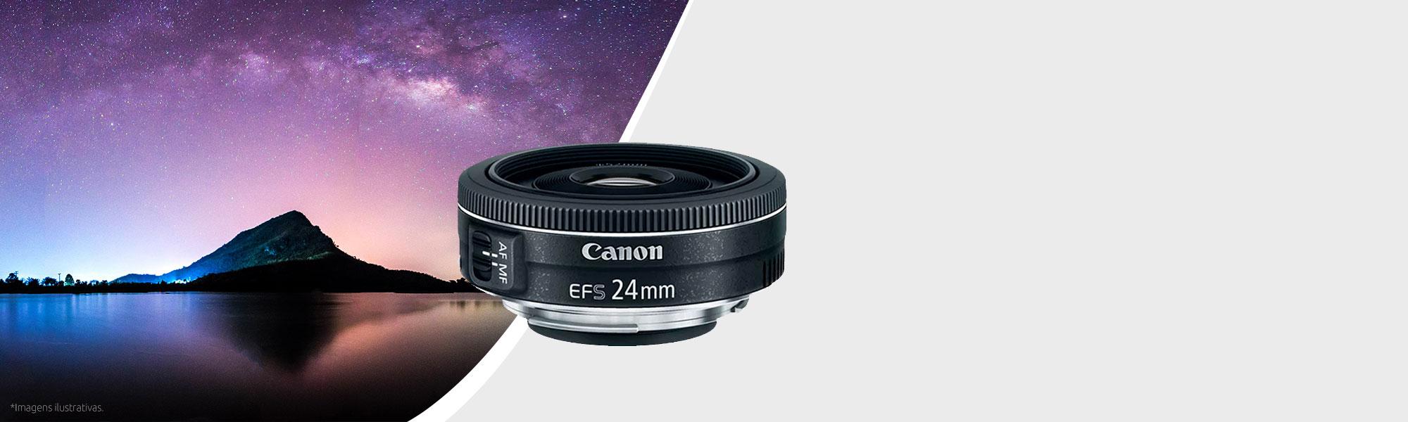 Lente EF-S 24mm f/2.8 STM