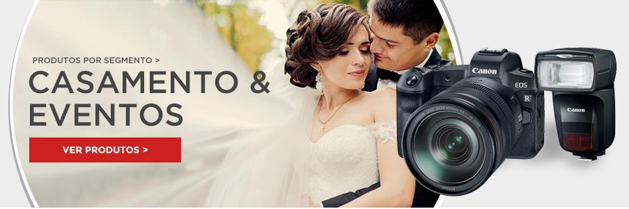 Pra quem fotografa casamentos e eventos em geral, a Canon tem os melhores equipamentos para enriquecer seus ensaios e seu portfólio!