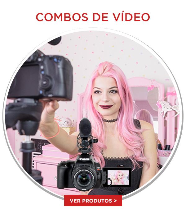 Faça seu vídeos e transmissões de forma profissional, com maior qualidade de som e imagem! Você perto mesmo à distância! Aproveite e confira todas as nossas soluções!