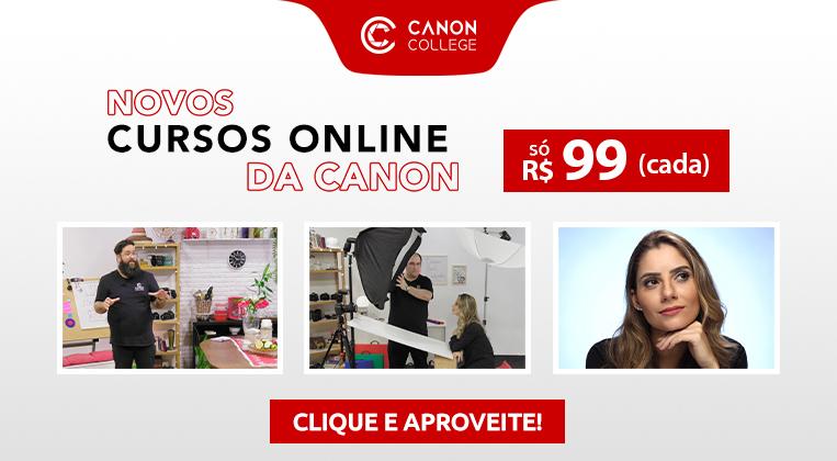 Curso Online de Fotografia do Canon College