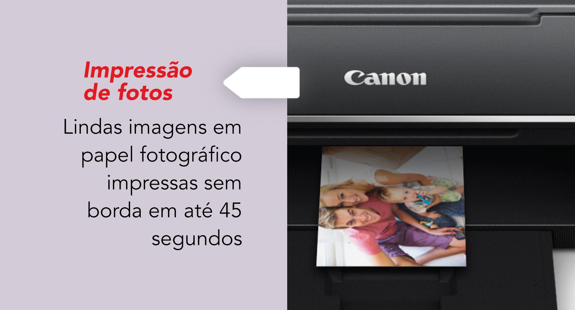 Nova Impressora MEGA TANK Canon G3160