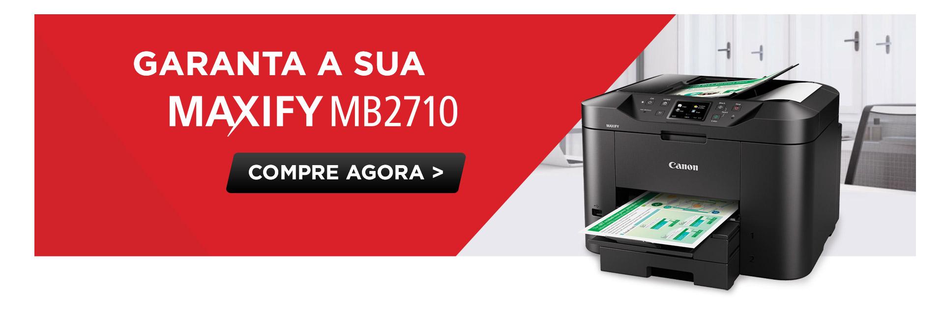Impressora Multifuncional MAXIFY MB2710