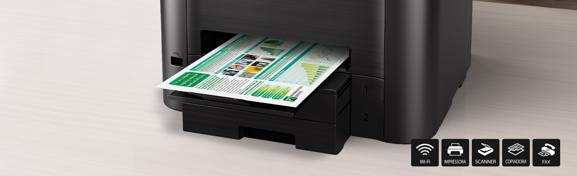 Impressora Multifuncional MAXIFY MB5410