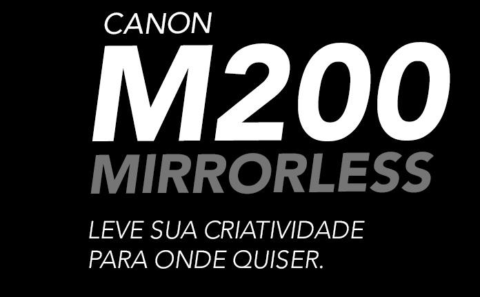 CANON MIRRORLESS EOS M200