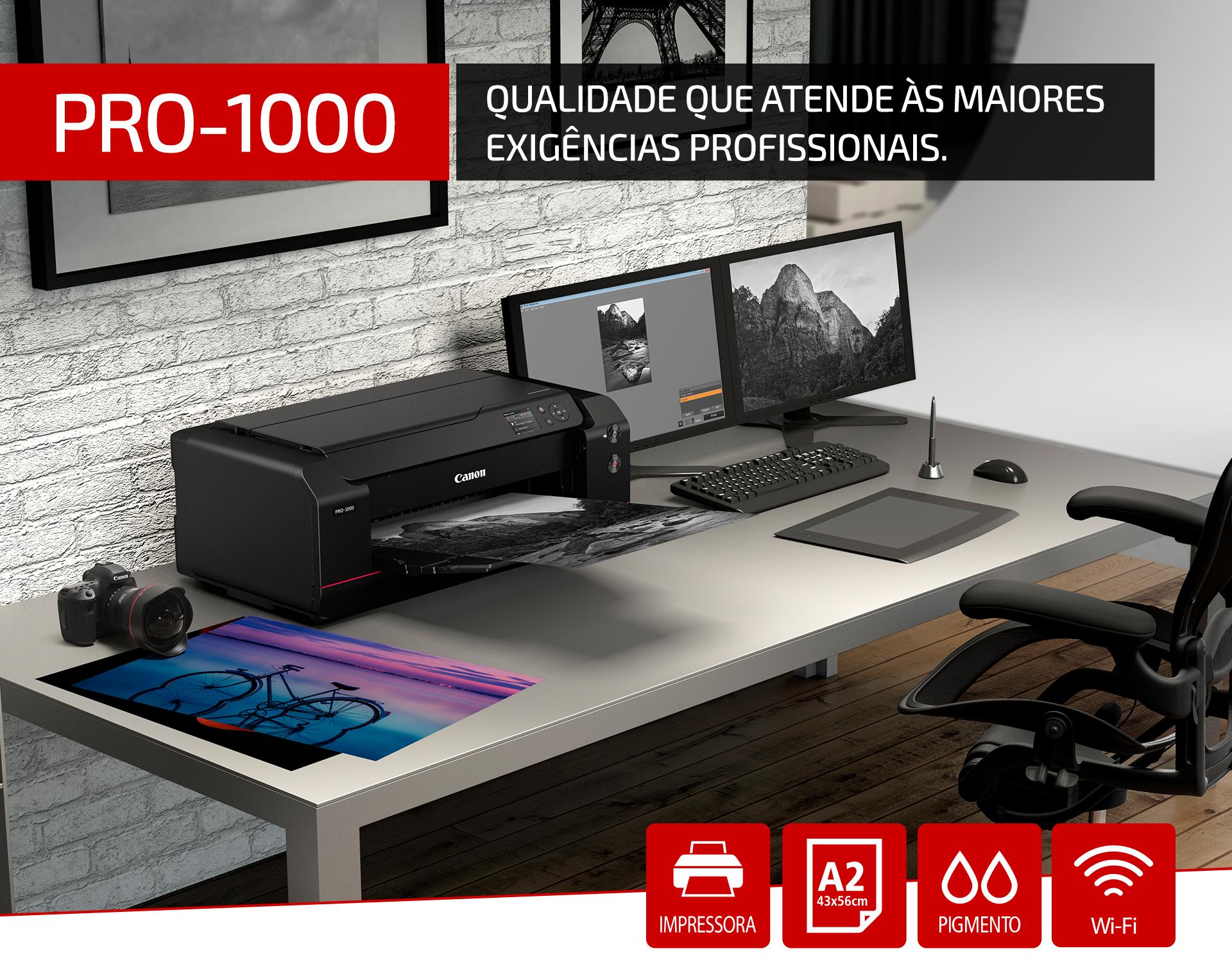 Impressora Fotográfica Jato de Tinta PRO-1000 A2